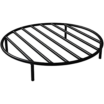 Amazon Com Onlyfire Round Fire Pit Grate 4 Legs Outdoor