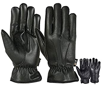 Mens Warm Winter Gloves Motorcycle Driving Cold Weather