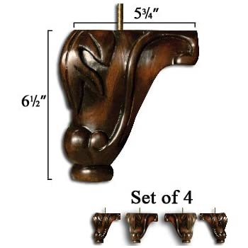 Well Wreapped Recliner Handles 6 5 Inch Queen Anne Ball