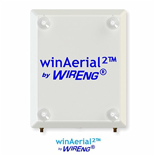 Winaerial2  Dual Antenna For Asiatelco Atel Alm B Series On Window No Installation True Mimo  45   Winaerial  2