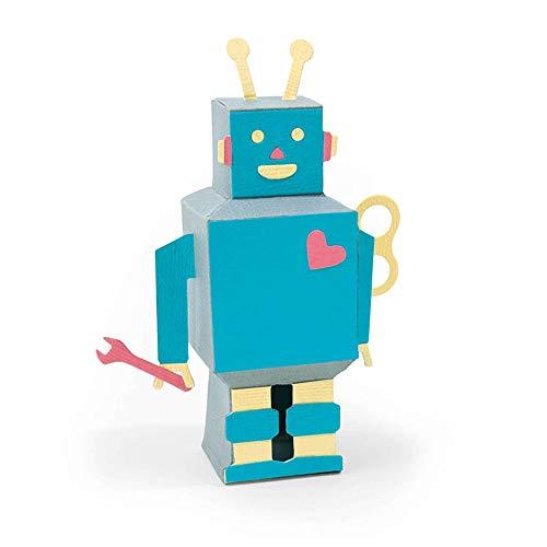 Sizzix 663375 3-D Robot Dies ()