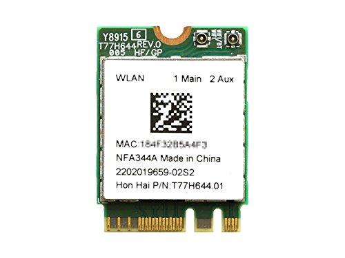wireless lan 802.11a/b/g/n/ac (2x2)