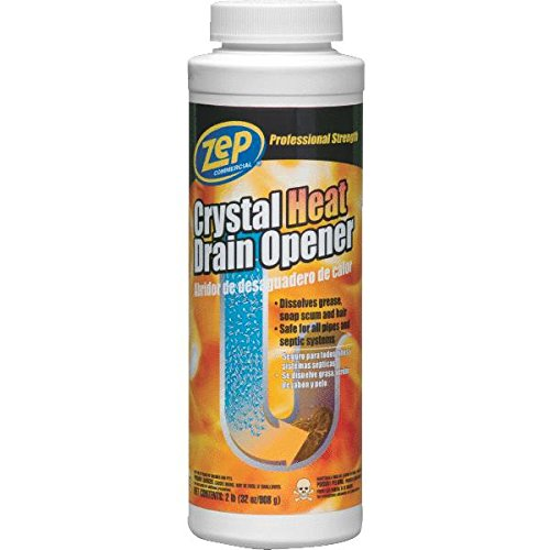 Zep Enforcer ZUCYR2 Crystal Heat Drain Opener, 2 lbs 1700-6875
