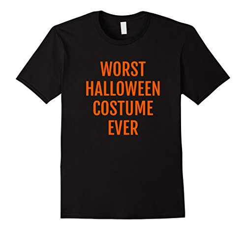 Mens Worst Halloween Costume Ever Funny T-Shirt 2XL (Worst Halloween Costume Ideas Ever)