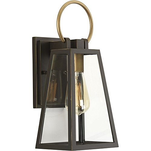 Progress Lighting P560077-020 Barnett Wall Lantern, Brown