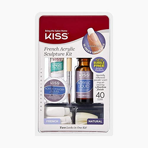 - Kiss French Acrylic Sculpture Kit