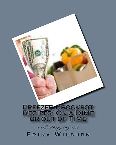 Freezer Crockpot Recipes: One a Dime or out of Time with Shopping - Erika List