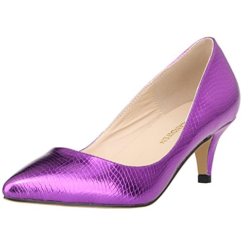 5 pour Violet EU Femme Escarpins Renly Ni678 1XEY 36 Violet XwqSBtv8Wf