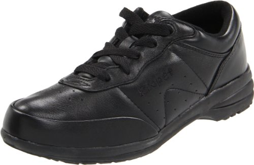 Propet Womens Washable Walker Shoe (Propet Women's Washable Walker Athletic,Black,10 W)