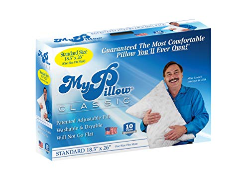 MyPillow Classic Standard (Choose Firmness) - 10 Year Warranty.