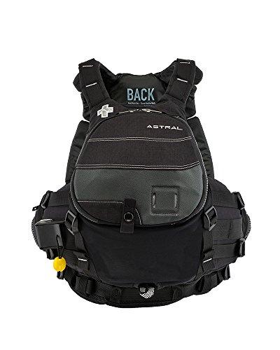 Astral Greenjacket Rescue Life Vest PFD - Slate Black - M/L