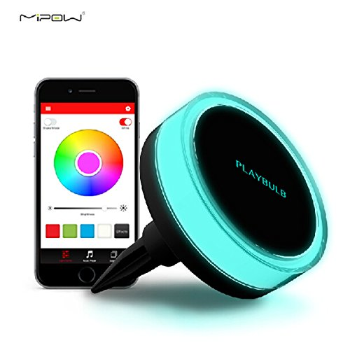 MIPOW PLAYBULB BTL400 Bluetooth Intelligent LED Solar Power Garden Light Outdoor Lawn Lamp