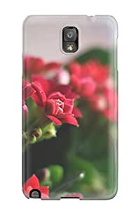 New Premium IDfbxrL2957DpqlH Case Cover For Galaxy Note 3/ Beautiful Red Flowers Protective Case Cover