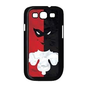 WEUKK Harley Quinn Samsung Galaxy S3 I9300 cases, personalized phone case for Samsung Galaxy S3 I9300 Harley Quinn, personalized Harley Quinn cover case
