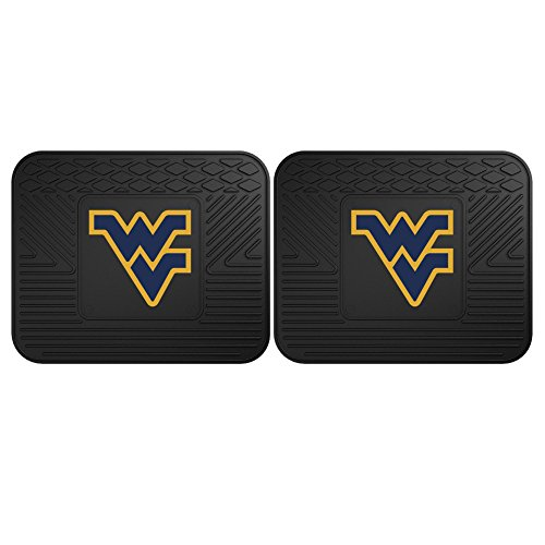 (FANMATS 12424 West Virginia University Utility Mat - 2 Piece)