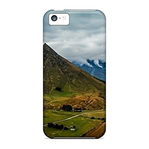 Brand New 5c Defender Case For Iphone (road Through Lovey Valley)