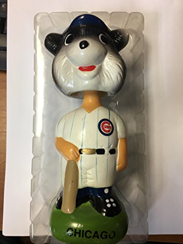 - Twins Enterprises Chicago Cubs Team Mascot Bobble Head Doll
