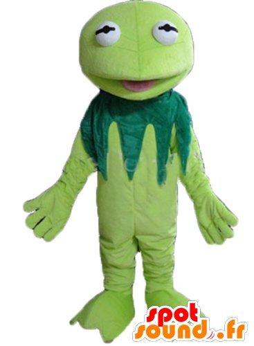 Mascot Kermit, la rana famosos Muppets Mostrar: Amazon.es ...