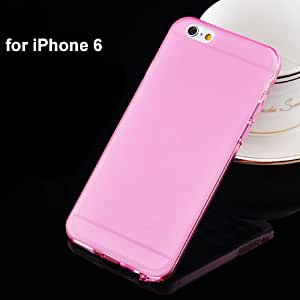 Phone Cases For Iphone 6 Case Tpu Soft Frosted With Dust Plug Cover Mobile Phone Bags & Cases Brand New Arrive 2014 I6Pink-i6Pink