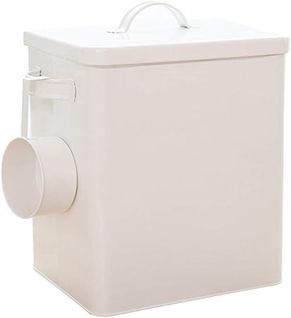 Jlxl Metal Caja de Comida para Perro, Hermético Pet Comida Seca Almacenamiento Compartimiento Gato Cocina Granos Envase (Color : B, Tamaño : 3kg): Amazon.es: Hogar
