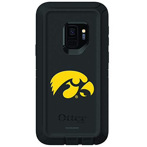 Fan Brander NCAA Phone case, Compatible with Samsung Galaxy S9 with OtterBox Defender Series(Iowa Hawkeyes) ()