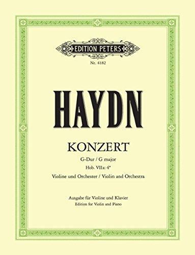 Haydn: Violin Concerto in G Major, Hob. VIIa:4 [Ed. Küchler]