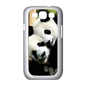 Diy Panda Phone Case for samsung galaxy s3 White Shell Phone JFLIFE(TM) [Pattern-1] by ruishername