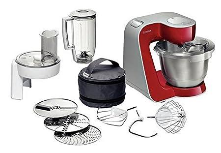 Bosch Mum 54720 Styline Colour Robot Cocina MUM54720 Rojo Profundo, 900 W, Acero Inoxidable, plástico