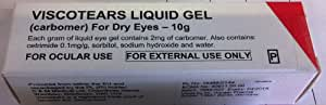 Viscotears Dry Eye Treatment Liquid Gel 10g
