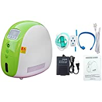 Air Purifier 1-5L/min Full Smart Home Oxygen Concentrator Machine With Transformer for Home(Without Battery)