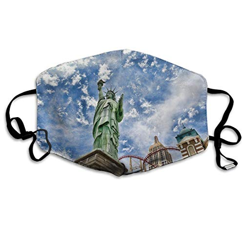 Unisex Mouth Mask Statue of Liberty in New