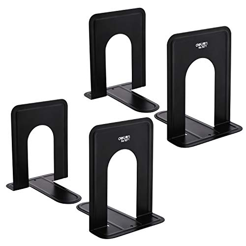 - Bookend Supports - Business Source - Black (2 Pairs, Small)