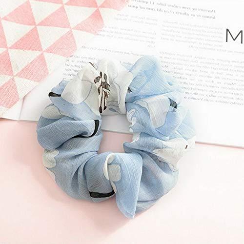 (Campton Lady Ponytail Bun Tie Scrunchies Flamingos Hair Band Elastic Scrunchie Hair Ring | Model RNG - 12275 |)