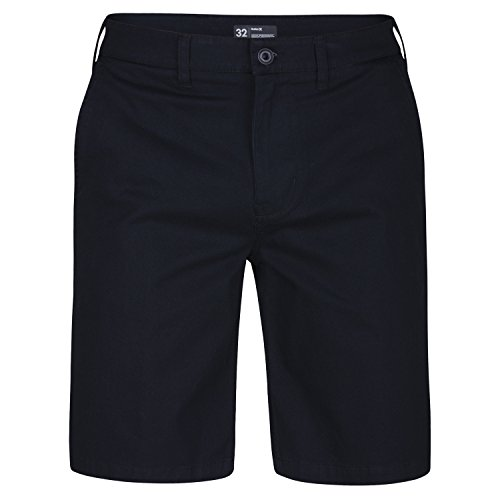 Hurley Mens One and Only2.0 Chino Walkshort (33, Black) Black Chino Walkshort