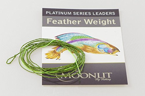 Platinum Feather Weight Fly Leader with HI-VIS Tip