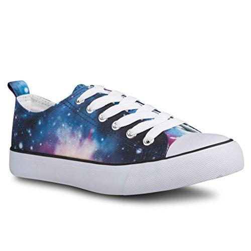 twisted-womens-kix-lo-top-galaxy-print-casual-fashion-sneaker-mlt-size-9