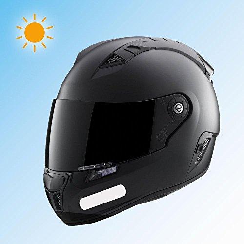 8 pegatinas reflectantes para casco, 9 x 2 cm, color blanco: Amazon.es: Hogar