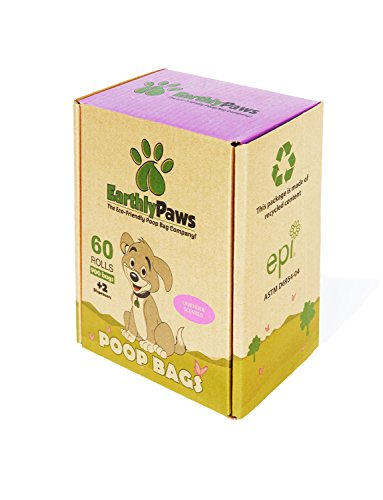 Earthly Paws Green Dispenser with Dog Waste Poop Bags