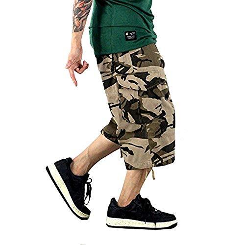 Uomo A Lavoro Maniche Pantaloni 4 Marroni Da Mimetici Cargo Casual 3 Abbigliamento Corte Gelb Trendy Pantaloncini Festivo Bermuda w4aYE1x4q