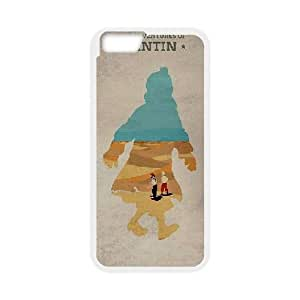 iphone6 4.7 inch case , The Adventures of Tintin iphone6 4.7 inch Cell phone case White-YYTFG-16496