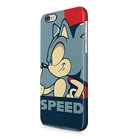 Sonic Speed Hard Plastic Snap-On Case Cover For iPhone 6 Plus / iPhone 6s Plus (Sonic Iphone 4s Case)