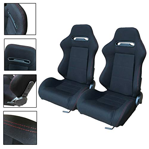 Heavens Tvcz B07RKDK6GJ Bucket Racing Sport Reclinable Seats