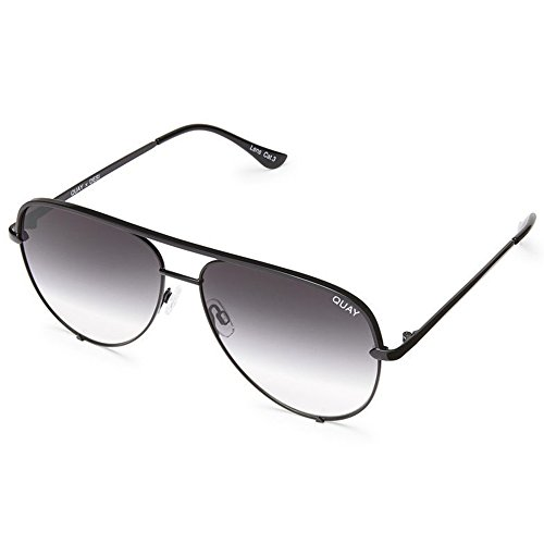 Quay Women's x Desi Perkins High Key Sunglasses, Black/Fade, One Size