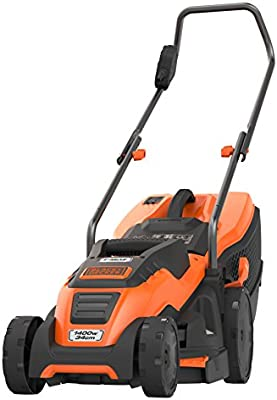 Black+Decker EMAX34I-QS Cortacésped, 1400 W, 230 V: Amazon.es ...