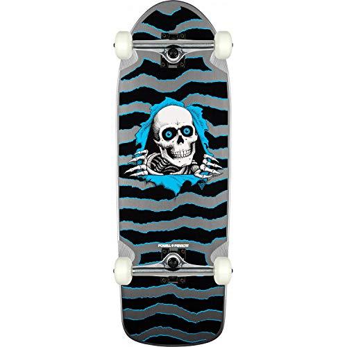 (Powell-Peralta Skateboard Complete OG Ripper Silver 10