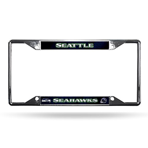 NFL Seattle Seahawks Chrome Plate Frame, 12