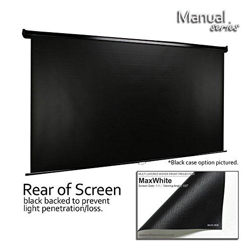 manual projector screen stuck down