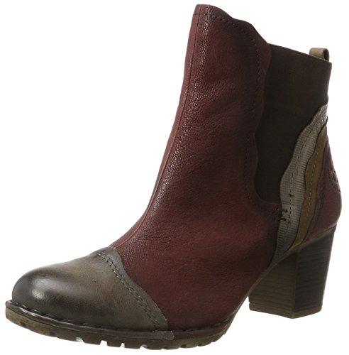 Red 411333301535 Bottes Bugatti Femme Rouge Multicolour dark qg6XCCnBwx