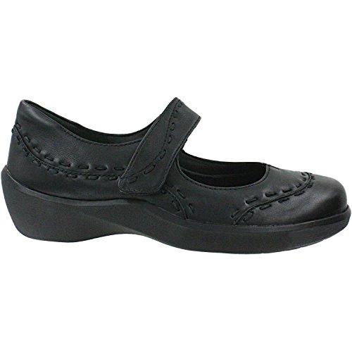 Ziera Kvinnor Gummibear Svarta Läder 39 X-omfattande
