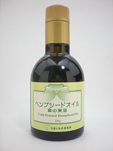 12本セット/うまいもの倶楽部 ヘンプシードオイル/麻の実油(Cold-Pressed Hemp Seed Oil)230g B079HQTYC5